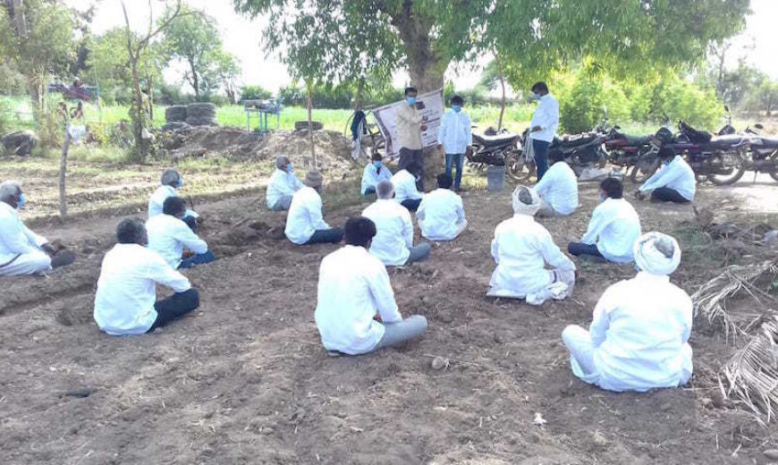 Sessions conducted for farmers and their communities on COVID-19 preventive measures 4