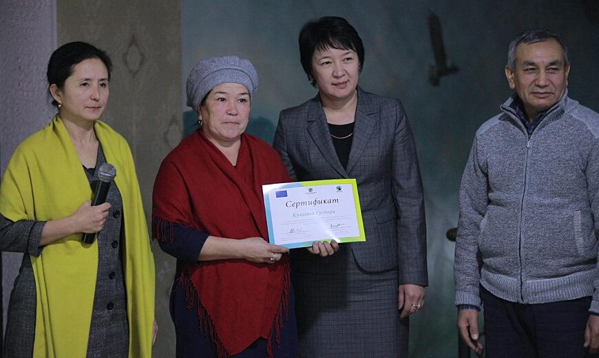Graduates of the Fairtrade Gender Leadership School