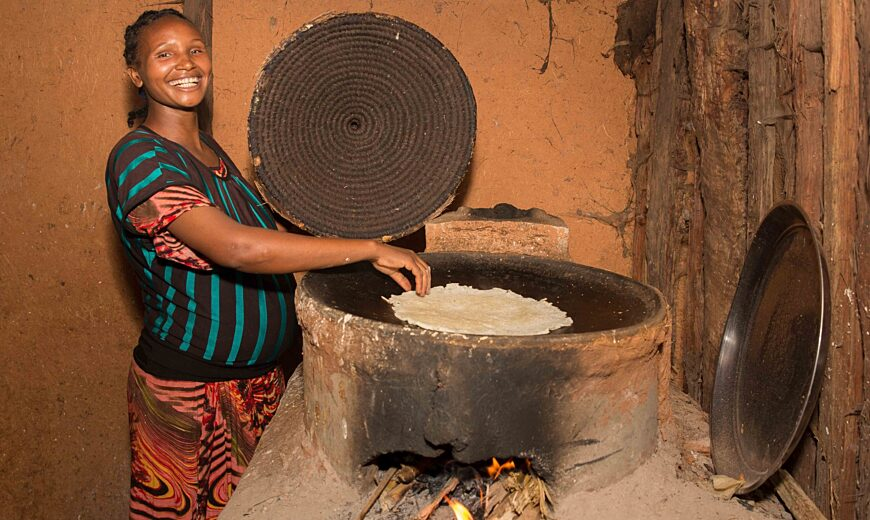 Introduction of 40.000 clean cookstoves for 20.000 coffee families in Ethiopia.