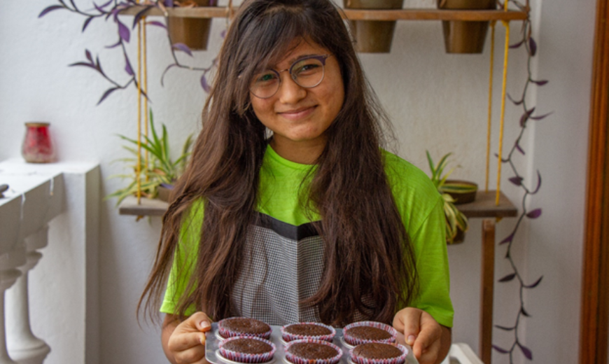 Kids and grownups across both towns have been baking Fairtrade chocolate cupcakes for frontline workers
