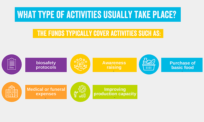 Activities Covid Funds