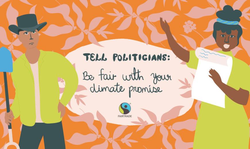Be Fair COP26 share orange 16 9