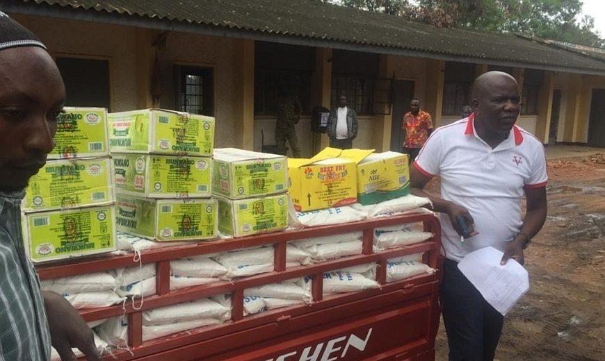 Bukonzo Organic Farmers Cooperative Union covid19 supplies 2 870