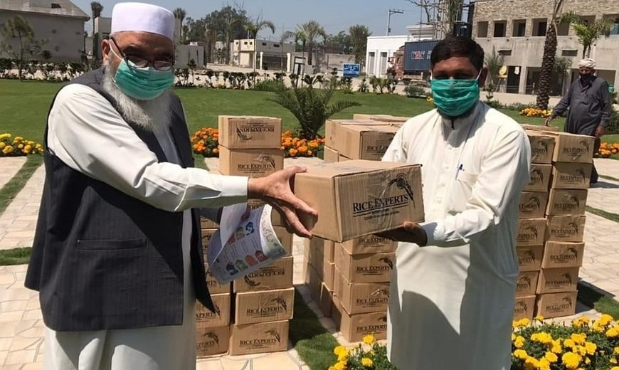 Masoom Sports Foundation covid19 relief package 870