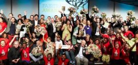 The Fairtrade Awards ceremony in 2014