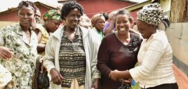 Participants in Kabngetuny coffee cooperative and Growing Women in Coffee programme in Kenya
