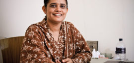 Nazma Akter started working in the garment sector in Bangladesh when she was 11 years old.